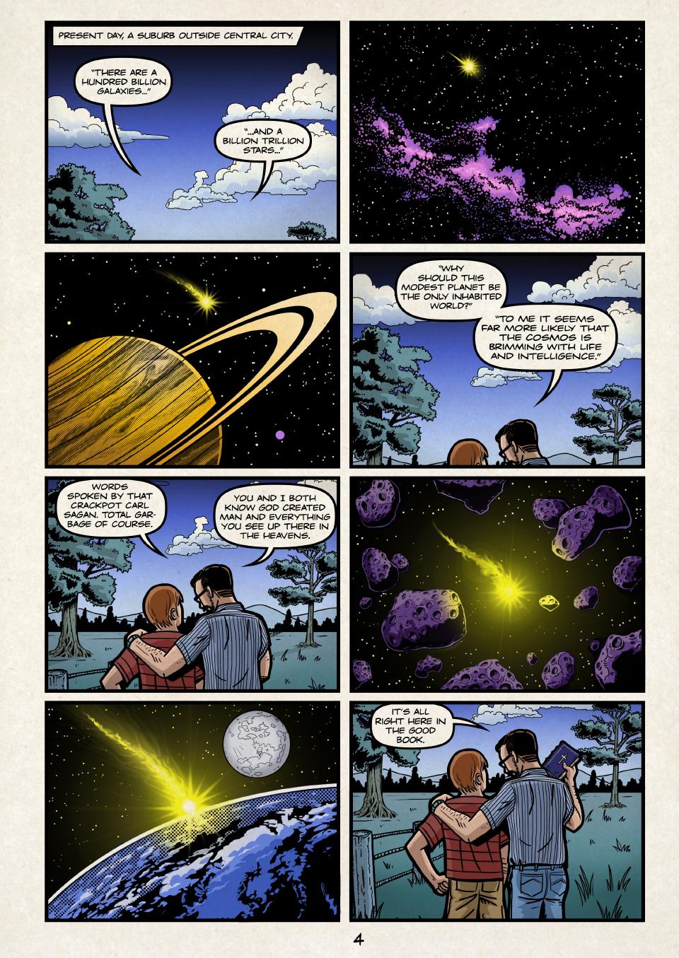 That crackpot Carl Sagan.