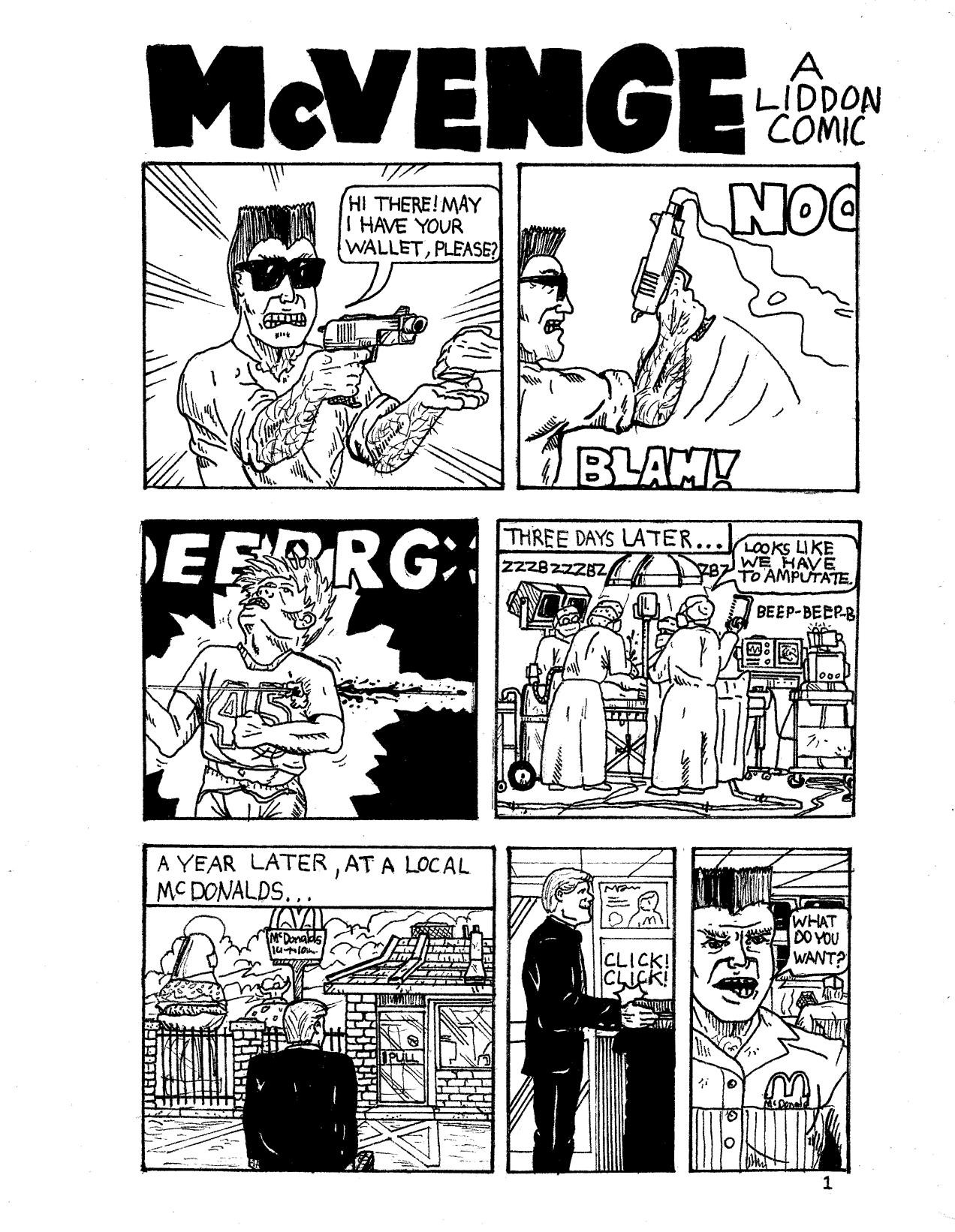 McVenge Page 1